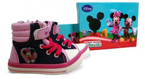 Disney Minnie Mouse enfants Bottes Taille UK-10/Eur-28