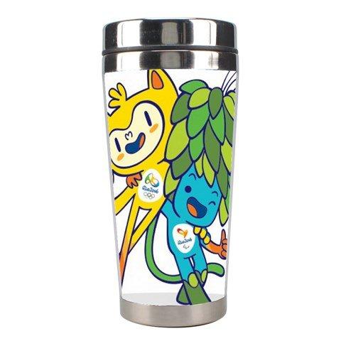 2016 Olympics Rio de Janeiro Brazil Stainless Steel Travel Coffee Tea Mug Cup (TT-062)