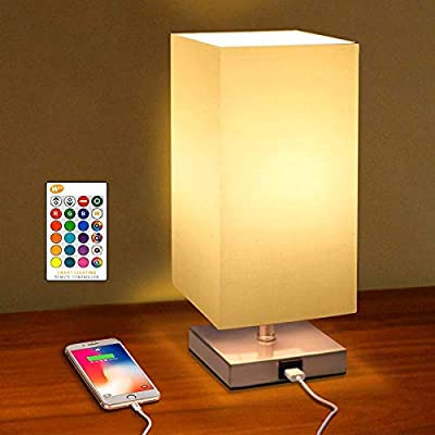 Home Lighting USB Bedside Table Lamp