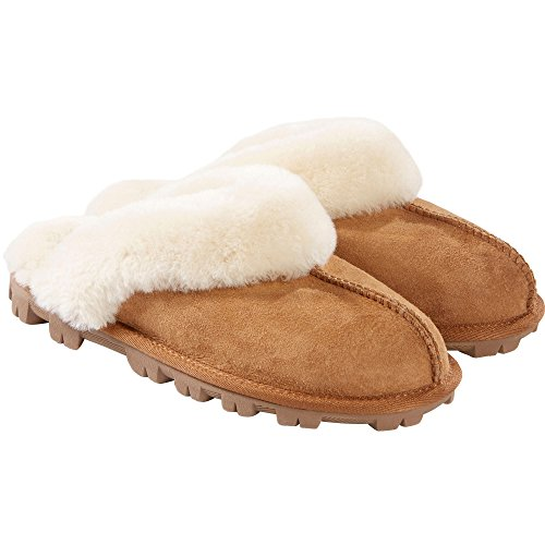 Shearing Chesnut Slippers Womens Kirkland Signature 6 qxFwB6nZA
