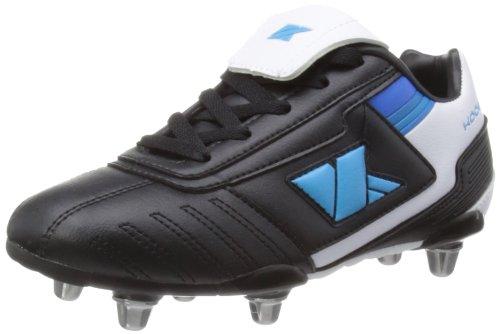 Kooga Lightning Lcst Bladed Boot - Botas para niños Black/White/Blue