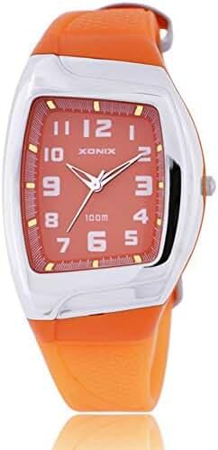 Stylish classic retro colorful waterproof girls quartz watch-B