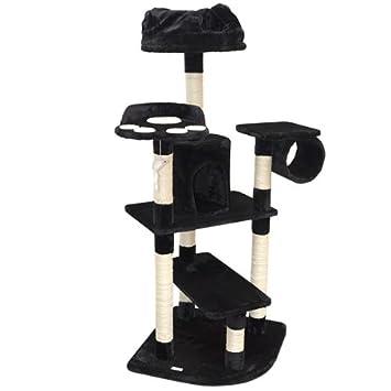 Eyepower Árbol Rascador para Gatos XXL Hans Altura Aprox 155 cm | Torre para afilarse Las