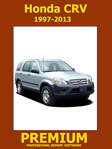 Amazon.com: Honda CRV Repair Software (DVD) 1997 1998 1999 2000 2001 2002  2003 2004 2005 2006 2007 2008 2009 2010 2011 2012 2013
