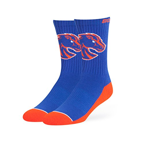 OTS NCAA Boise State Broncos Anthem Sport Socks, Large, (Ncaa Boise State)