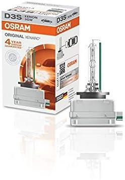 OSRAM XENARC ORIGINAL D3S HID, lámpara de xenón, lámpara de descarga, calidad de equipamiento original (OEM), 66340, estuche (1 unidad)