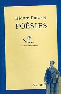 Poésies I et II par Lautréamont