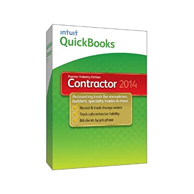 QuickBooks Premier Contractor 2014