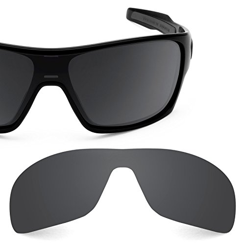 Revant Polarized Replacement Lens for Oakley Turbine Rotor Stealth Black