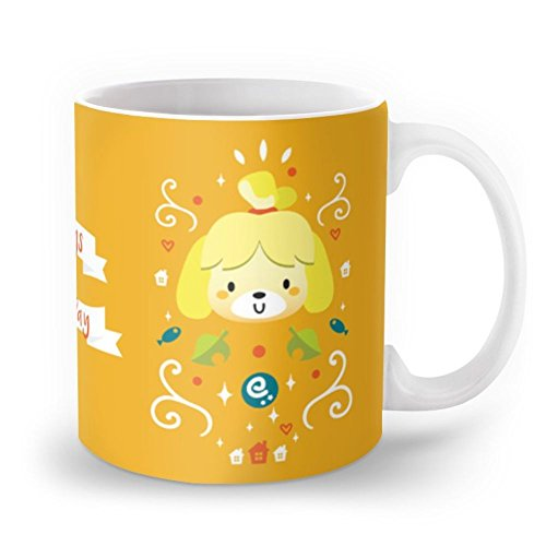 Society6 Animal Crossing: Isabelle Mug 11 oz