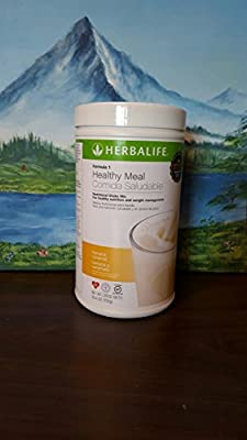 Herbalife Formula 1 Healthy Meal Nutritional Shake Mix Banana Caramel