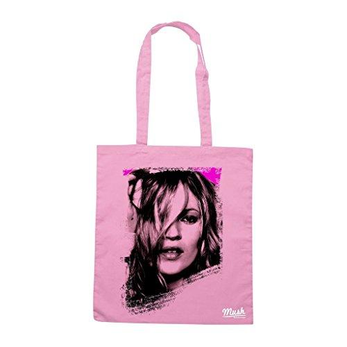 Borsa Kate Moss - Rosa - Famosi by Mush Dress Your Style