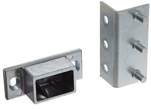 Detex Adjustable Surface Strike Bracket for Inswinging Doors or Double Doors by Detex