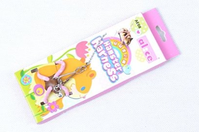 adjustable-harness-leash-hamster-rat-mouse-squirrel-sugar-glider-small-animalpink
