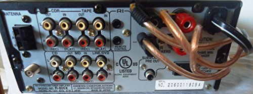 Onkyo r-805x compact hi-fi receiver fm/am tuner amplifier w.