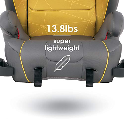 41KG2oqmtDL - Diono Monterey XT Latch, 2-in-1 Belt Positioning Booster Seat With Expandable Height/Width, Blue