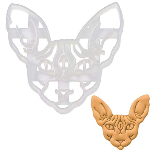 Sphynx Cat with 3rd Eye cookie cutter, 1 piece - Bakerlogy ()