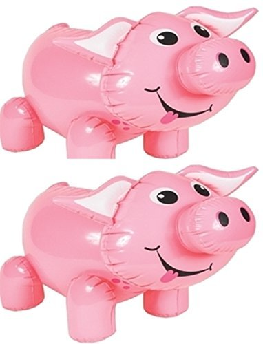 Inflatable Pigs Set of 2