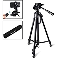 Camera Tripod, UBeesize 55-Inch Lightweight Aluminum...