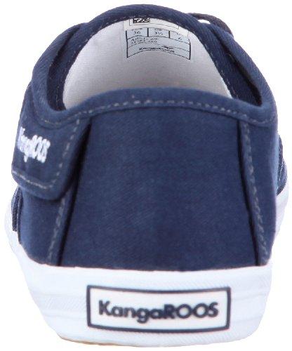 KangaROOS Gizella 31583/000, Baskets mode mixte adulte Bleu (Bleu-tr-c3-301)