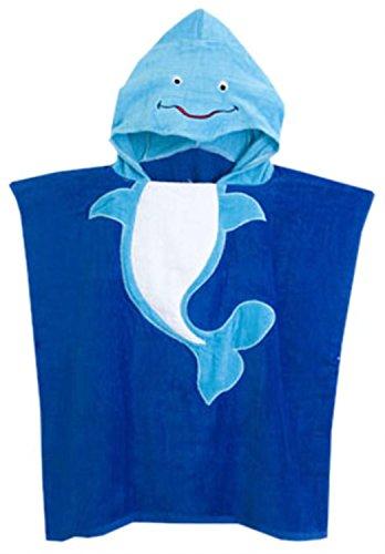 kid boys hooded beach towel - 7