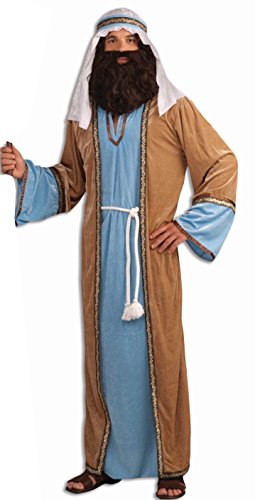 [Forum Novelties Men's Deluxe Joseph Costume, Multicolor, Standard] (Adult Nativity Costumes)