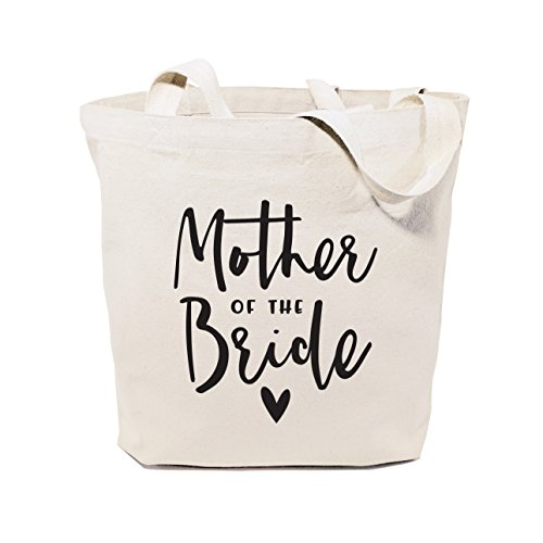 The Cotton & Canvas Co. Mother of the Bride Wedding, Beach, Shopping and Travel Resusable Shoulder Tote and Handbag