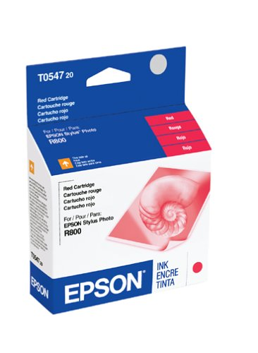 Epson T054720 Red Standard Capacity Cartridge Ink