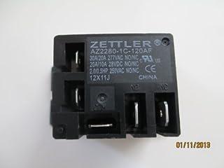 diagram, henry j wiring zettler miniature power relay 30a spdt 120vac  az2280-1c-120a     on