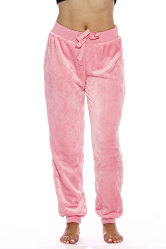 6317-Lt. Pink-M Just Love Velour Pajama Pants / Joggers for Women