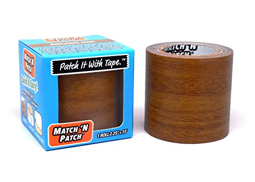 (Match 'N Patch Realistic Repair Tape, Antique Oak)