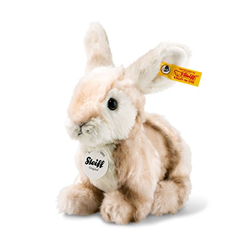 Steiff Melly Rabbit Plush Animal Toy, Blonde