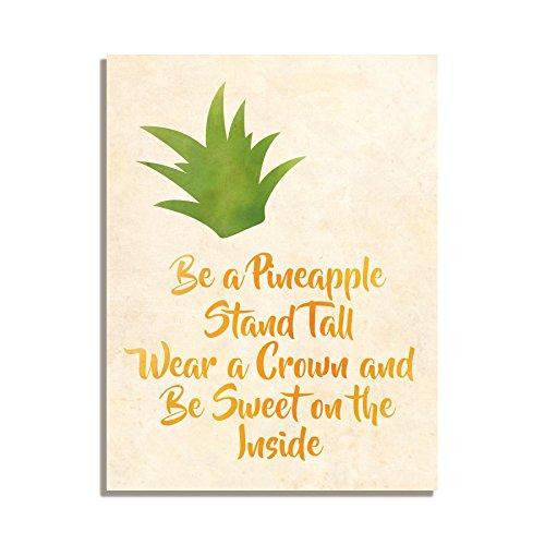 Ser una piña Stand Tall desgaste una corona y ser dulce en el ...
