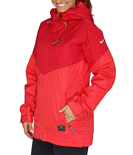 Nike Women's Alpenglow Snowboard Jacket 543726 (X-Large, Distance Red/Fusion Red) (Nike Snow Jacket)