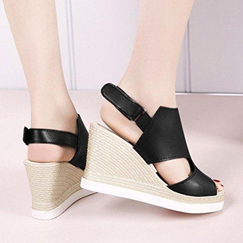 Élastique Été Plat Black 44 Chaussures Étudiant Et Xie Simples Printemps Instep Code 33 Quotidien Femmes Talon Bande Bouche Shallow Taille qTqH8XR