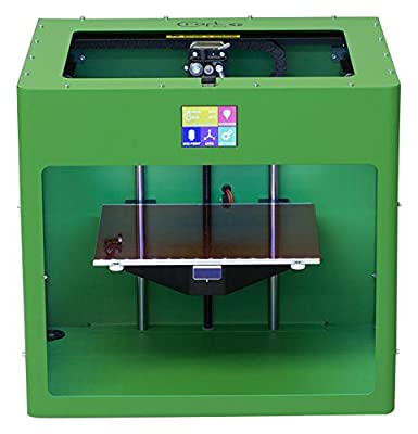 May Green colored CraftBot PLUS 3D printer.