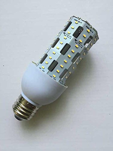AMATRON LED Corn Cob 9W E26 medium base 4100K Cool White 100~277Vac , Excellent aluminum chip board cooling design for safety, long life-span and low lumen decay, Replace 100W incandescent bulb