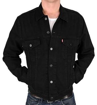 Levis jeansjacke schwarz herren