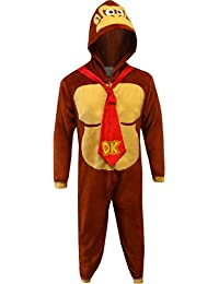 Donkey Kong Men's Pajama Union Suit