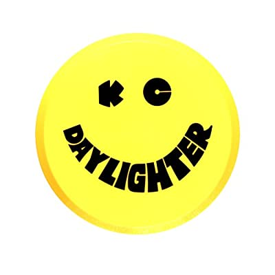 "KC HiLiTES 5202 6"" Round Yellow Plastic Light Cover w/ Black KC Daylighter Logo - Single Cover: Automotive"