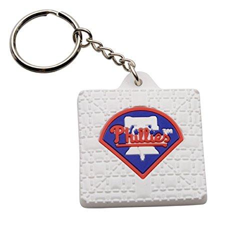 MLB Philadelphia Phillies Key Chain, One Size, White