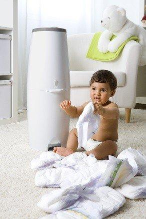 Angelcare Comfort Plus Nappy Bin/ /White.
