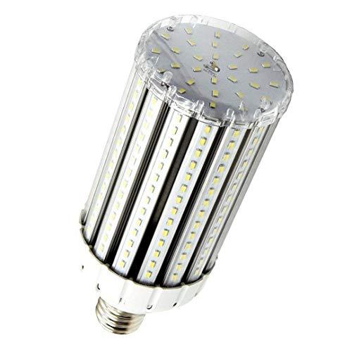 - Bonlux E39 Large Mogul Screw Base 80W LED Corn Light Bulb AC 85-265V 8000lm for Garage Street Parking Lot Warehouse Barn Porch Backyard High Bay Lighting (Warm White)