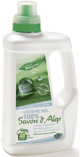 La lavandería Gel Natural 100% jabón de alepo – biodegradable ...