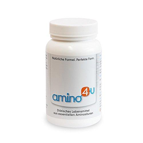 Amino4U alle 8 essentiellen Aminosäuren Muskelaufbau 120g Dose