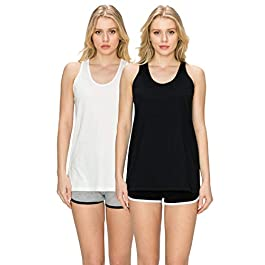 Women's  Loose Fit Tank Tops-Relaxed Athletic Workout