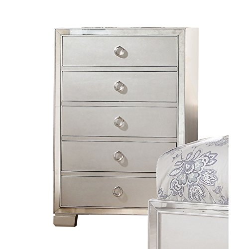 ACME Furniture 24846 Voeville II Chest, Platinum, One Size