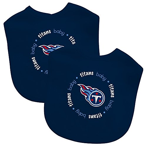 (Baby Fanatic Team Color Bibs, Tennessee Titans, 2-Count)