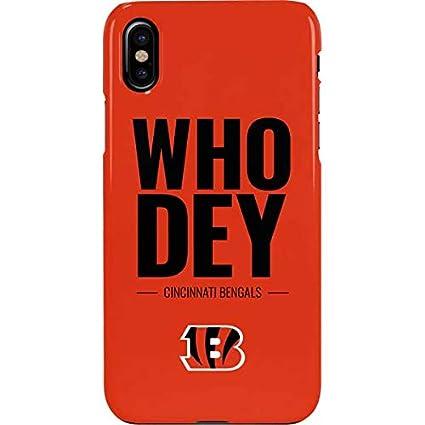 meet 60342 2b237 Amazon.com: Cincinnati Bengals iPhone Xs Max Case - NFL | Skinit ...