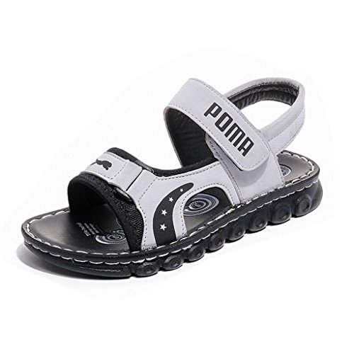 Boys Girls Sport Water Sandals Classic Summer Open-Toe Outdoor Athletic Kids Shoes (Toddler/Little Kid/Big - Toe Classic Sandals Open